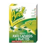 Insecticide - Raticide Pieges Anti-Cafards - x5