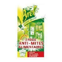Insecticide - Raticide Pieges Anti Mites alimentaires - x2