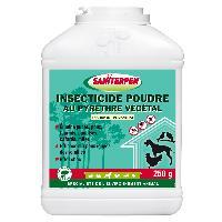 Insecticide - Raticide Poudre Insecticide au Pyrethre Vegetal 250g Saniterpen