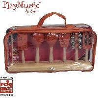 Instrument - Percussion CLAUDIO REIG Ensemble percussion. plastique étui.
