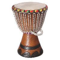 Instrument - Percussion DELSON X Petit Djembé du Sénégal en bois Ø 25cm - Hauteur : 41cm