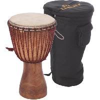 Instrument - Percussion KANGABA Pack grand Djembé Mali + housse + sangle