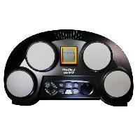 Instrument - Percussion MEDELI Multipad de 4 pads lumineux apprentissage noir et gris