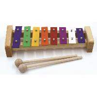 Instrument - Percussion Métallonote 8 notes