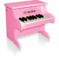 Instrument - Piano - Clavier DELSON Piano bebe rose 18 touches
