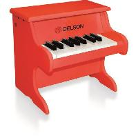 Instrument - Piano - Clavier DELSON Piano bebe rouge 18 touches