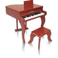 Instrument - Piano - Clavier Piano a queue enfant rouge delson 30 touches