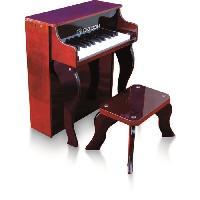 Instrument - Piano - Clavier Piano droit enfant rouge delson 25 touches
