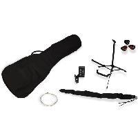 Instrument A Cordes DELSON Pack Guitare Folk Montana naturelle + accessoire