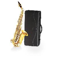 Instrument A Vent DELSON Saxophone soprano courbe
