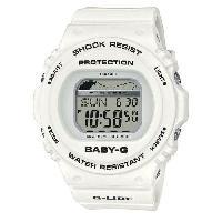 Instrument De Mesure CASIO Baby-G Montre BLX-570-7ER indicateur des marées. blanc