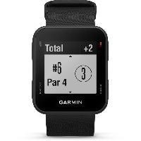 Instrument De Mesure GARMIN Approach S10 Montre GPS de Golf - Noir