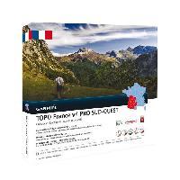 Instrument De Mesure GARMIN Carte Topo France V5 Sud-Ouest Pro