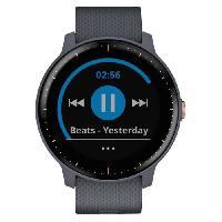 Instrument De Mesure GARMIN Vivoactive 3 Music Montre connectée avec GPS et Cardio - Granite blue et Bracelet rose gold