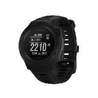 Instrument De Mesure Garmin Instinct Tactical Edition - Montre GPS robuste avec fonctions tactiques - Noire