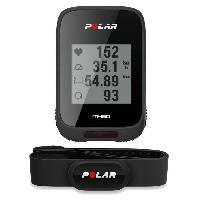 Instrument De Mesure POLAR Compteur velo GPS M460 avec ceinture cardio H10