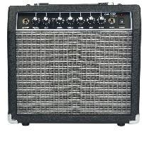Instruments De Musique Ampli guitare 15 watts reverb noir et gris