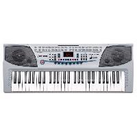 Instruments De Musique DELSON Clavier 54 touches JK-2083 gris