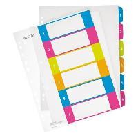 Intercalaire Intercalaire Imprimable 1-6 A4 + Wow