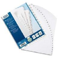 Intercalaire Paquet de 20 intercalaires alphabetiques A4 - Polypropylene15100 - Blanc