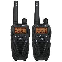 Intercom - Kit Communication FreeComm 700 Paire de Talkies-Walkies PMR446 Standard