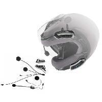 Intercom - Kit Communication Intercom x2 pour Casques Shoei Cardo SHO-1