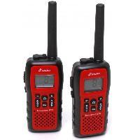 Intercom - Kit Communication Paire de Talkie-walkies Freecomm 850 etanches