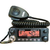 Intercom - Kit Communication Poste Radio CB Johnny III 12 24v ASC 40 Canaux AM Multi normes