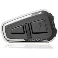 Intercom - Kit Communication SCALA RIDER Q Solo Intercom Bluetooth pour moto