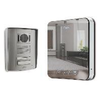Interphone - Visiophone EXTEL Visiophone couleur 2 fils écran 18 cm 7 pouces Quattro 2