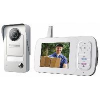 Interphone - Visiophone Interphone video couleur sans fil 3.5 avec combine portable VD38W