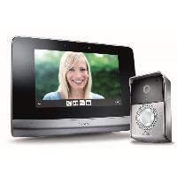 """Interphone - Visiophone SOMFY Visiophone V500 7"""" pouces 2 fils écran couleur tactile a mémoire d'images"""