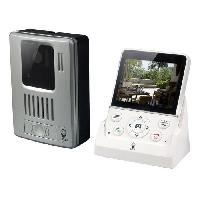 Interphone - Visiophone Visiophone sans fil mains libres ecran LCD 3.5 pouces WDP-100