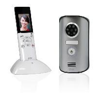 Interphone - Visiophone Visiophone sans fil portatif ecran LCD 2.3 pouces avec memoire interne et a vision nocturne