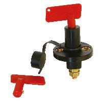 Interrupteur - Actionneur - Pulseur Interrupteur coupe-circuit 12V 24V 300A + 2 cles - ADNAuto