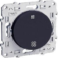 Interrupteur Interrupteur Commande VMC Odace anthracite