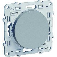 Interrupteur Interrupteur ou va et vient Odace aluminium 230 V