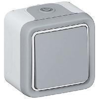 Interrupteur Interrupteur simple apparent 10A Plexo