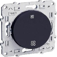 Interrupteur SCHNEIDER ELECTRIC Interrupteur Commande VMC Odace anthracite