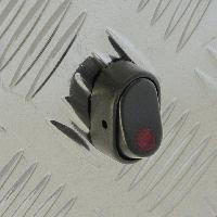Interrupteurs Interrupteur -LE 12V 30A LED rouge