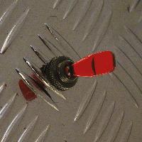 Interrupteurs Interrupteur -OnOff-.12V 20A -rouge-
