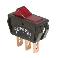 Interrupteurs Interrupteur -On Off- Rouge 12V 20A