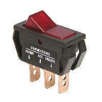 Interrupteurs Interrupteur -On Off- Rouge 12V 20A Carpoint