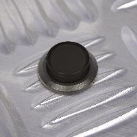 Interrupteurs Interrupteur a pression Noir 12V 20A