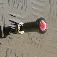 Interrupteurs Interrupteur a tirette illumine. 12V 10A -rouge-