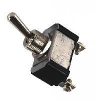 Interrupteurs Interrupteur on-off-on metal chrome Generique