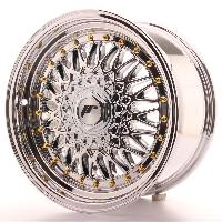 Jantes 16 Pouces 4 jantes 16 JR9 16x8 ET25 4x100-108 Chrome - Japan Racing