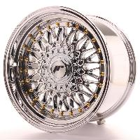Jantes 16 Pouces 4 jantes 16 JR9 16x9 ET20 5x112 105 115 108 114.3 118 110 120 100 4x100 114.3 108 Chrome - Japan Racing