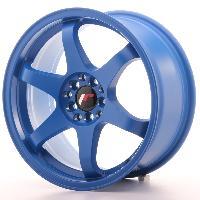 Jantes 17 Pouces Jante 17 JR3 17x8 ET35 4x114.3-100 Bleu Japan Racing