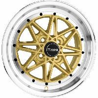 Jantes alu Jante 15 DR20 15x7 ET10 4x100 Or - Drag Wheels